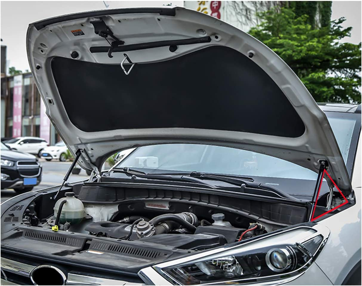 Lfotpp Motorhauben Gasfeder Für Tucson Tl Schwarze Gasdruckfeder Motorhaube 2 Stück Auto