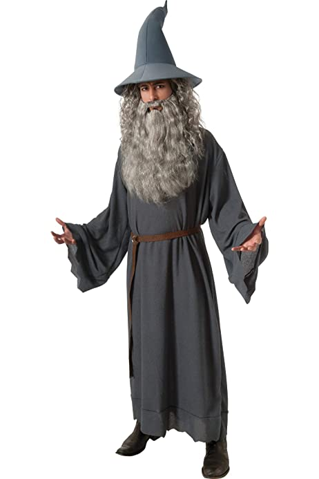 Lord Of The Rings Gandalf Wizard Cosplay Costume Halloween Party Adult hat DD