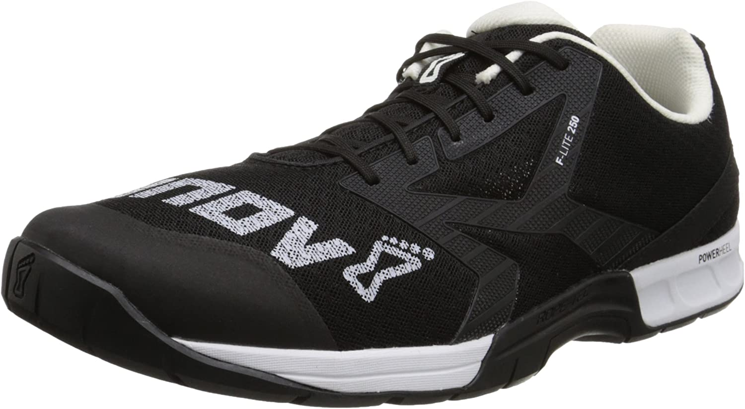 Black Mens Inov8 F-lite 230 Mens Training Runners Sneakers Comfort Shoes