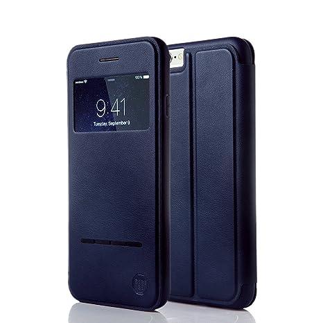 coque rabat iphone 6 cuir