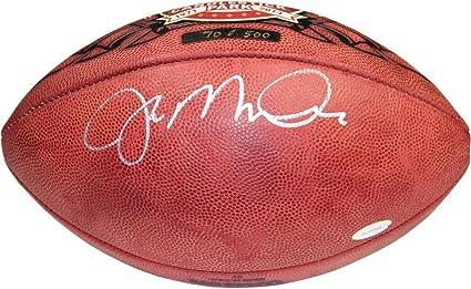 reputable site ebec7 3e6d6 Joe Montana Autographed Signed Candlestick Park Football LE ...