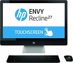 HP ENVY Recline 27-k150 27-Inch TouchSmart All in One Desktop with Beats Audio (Discontinued by Manufacturer)
