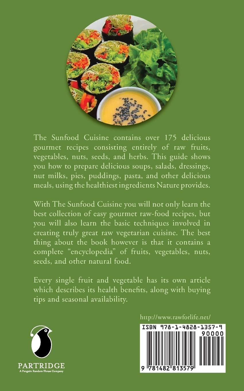 Sunfood Cuisine Patenaude Frederic 9781482813579 Books Amazon Ca