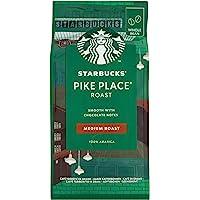 Starbucks Pike Place - Medium Roast Whole Bean Coffee, 200g