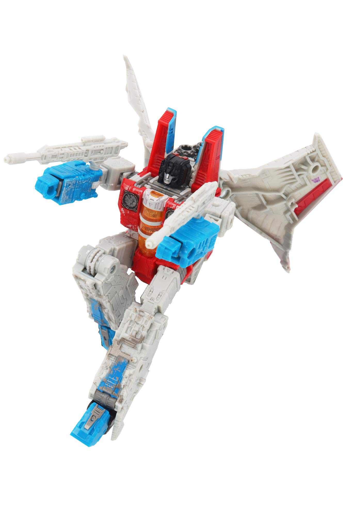 Transformers Toys Generations War for Cybertron Voyager Wfc-S24 Starscream Action Figure - Siege Chapter - Adults & Kids Ages 8 & Up, 7'' by Transformers (Image #5)