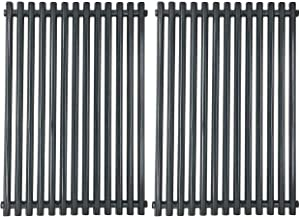 Broilmann 7525 Porcelain Enameled Grill Grates for Weber Spirit 300 Series, Genesis Silver Gold B/C, Spirit 700, Cooking Grids Replacement Parts, 17-1/4 Inches
