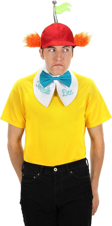 Tweedle Dee Tshirt Matching Halloween Tshirts Alice In Wonderland Tweedle Dee And Tweedle Dum Couples Halloween Shirts,