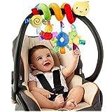 Albeey Baby Pram Spirale Rassel Spielzeug Kinderwagen Krippe Hängendes Spielzeug