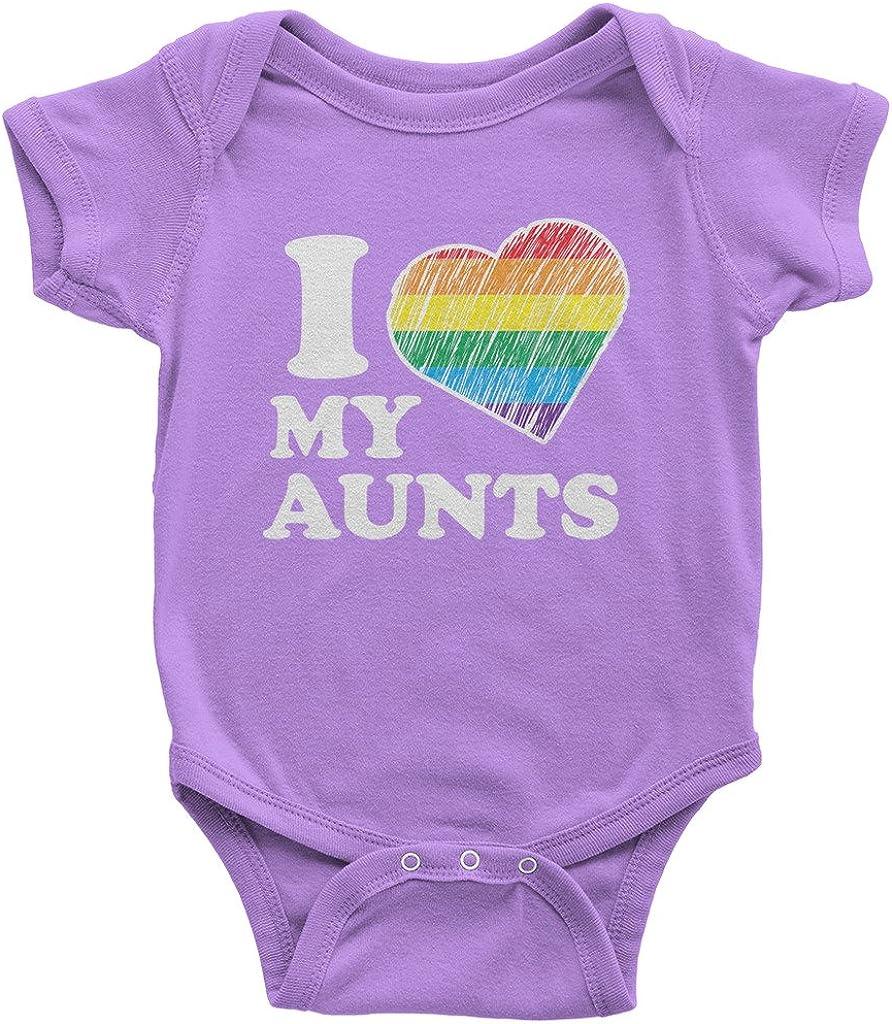 Threadrock Baby I Love My Aunts Infant Bodysuit