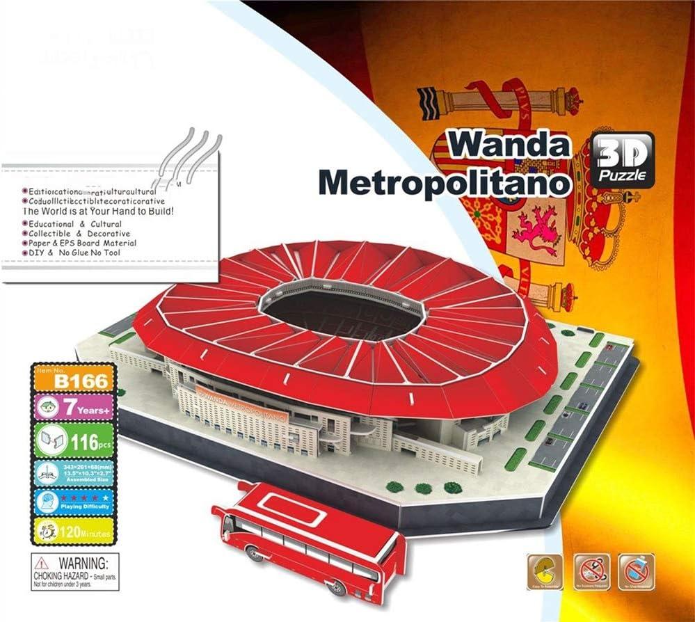 EP-model Modelo 3D del Estadio Deportivo, Club Atlético de Madrid ...