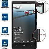 Beiuns Film Protection d'écran en Verre Trempé Ultra Dur Protecteur d'écran pour Nokia Lumia 930