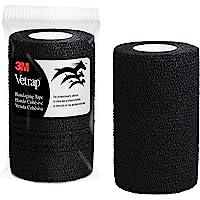 3M Vetrap Bandaging Tape, 100mm, Black