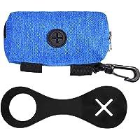 Silicone Dog Poop Bag Holder & Dog Poop Bag Dispensor, Dog Poop Bag Holder for Leash Attachment - Waste Bag Dispenser…