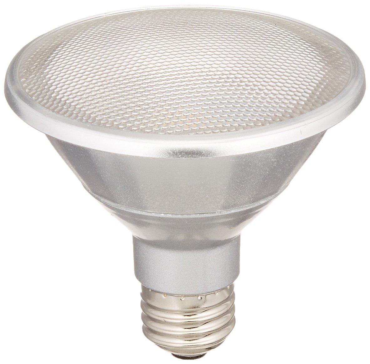 Flood 13W Dimmable Wet Rated Outdoor//Indoor LED PAR30 Short Neck Reflector Bulb Medium Bulbrite LED13PAR30S//FL40//830//WD 50W Halogen Equivalent Soft White E26 Base