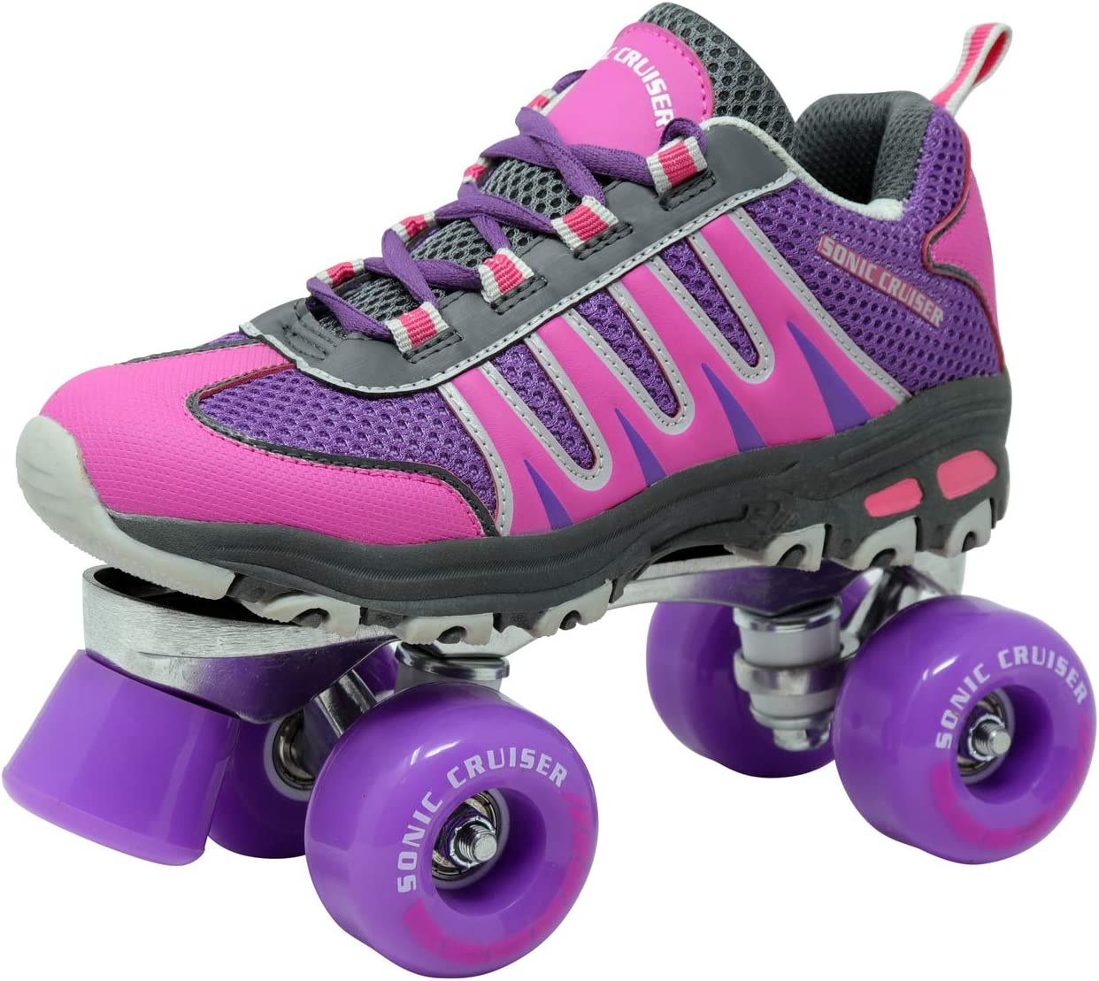 Lenexa Sonic Cruiser 2.0 Unisex Outdoor High Performance Rebound Wheels Quad Roller Speed Skate