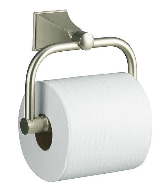 KOHLER K 490 CP Memoirs Toilet Tissue Holder With Stately Design, Polished  Chrome   Toilet Paper Holders   Amazon.com