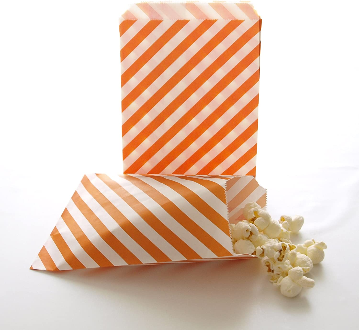 Paper Bags Wedding Candy Buffet Paper Candy Bags 50pcs,100pcs Striped wedding Bags Birthday Favor Bags Candy Treat Bag Party Bags