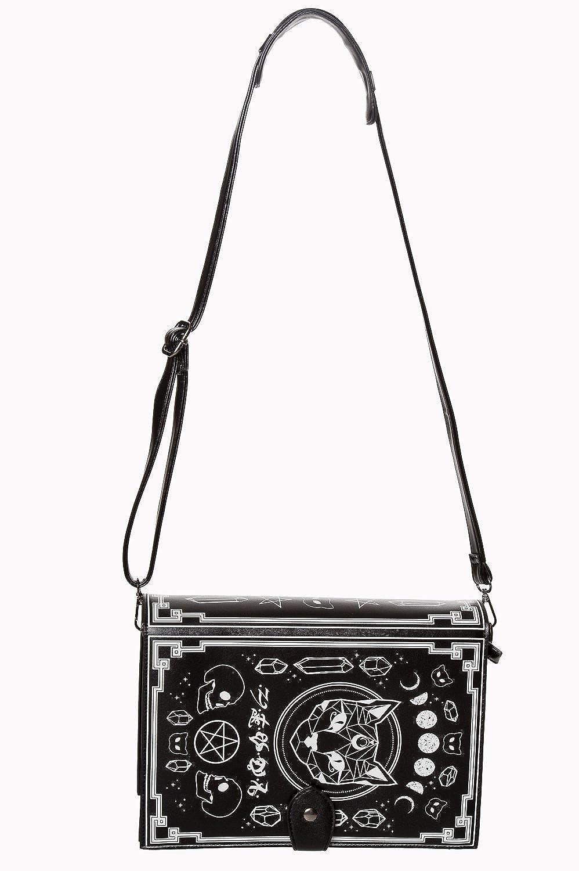 Amazon.com: Banned Apparel Spellbinder Bag - Bolsa bandolera ...