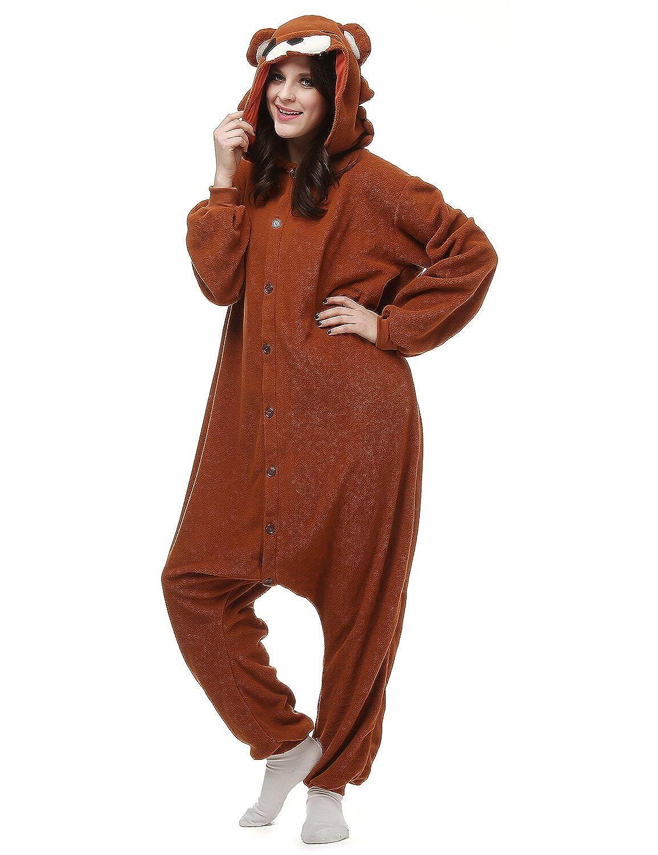 Amazon.com Clearbridal Unisex Adult Animal Onesies Pajamas Homewear Kigurumi Costume AC001 Clothing  sc 1 st  Amazon.com & Amazon.com: Clearbridal Unisex Adult Animal Onesies Pajamas Homewear ...