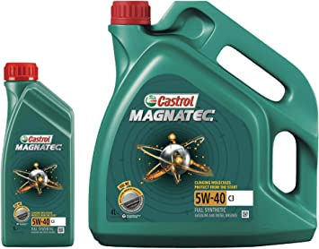 Castrol Magnatec 5w 40 C3 Fully Synthetic 5 Litre Auto
