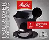 Melitta Single-Cup Pour Over Coffee Brewer