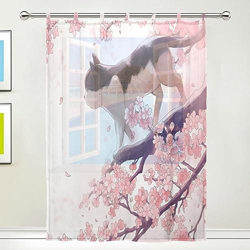 TSWEETHOME Window Treatments Sheer Curtains Draperie