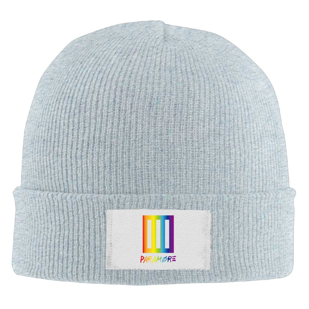 Alasika100 Fashion Paramore Rainbow Rock Band Beanie Hat Skull Cap