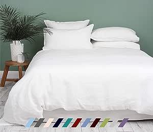 Kotton Culture Premium Duvet Cover Set 3 Piece with Zipper & Corner Ties 100% Egyptian Cotton 600 Thread Count Luxurious 1 Duvet Cover 2 Pillow Shams (California King/King, White)