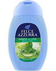 Felce Azzurra Docciagel Menta e Lime - 6 Confezioni da 250 ml - Totale: 1500 ml