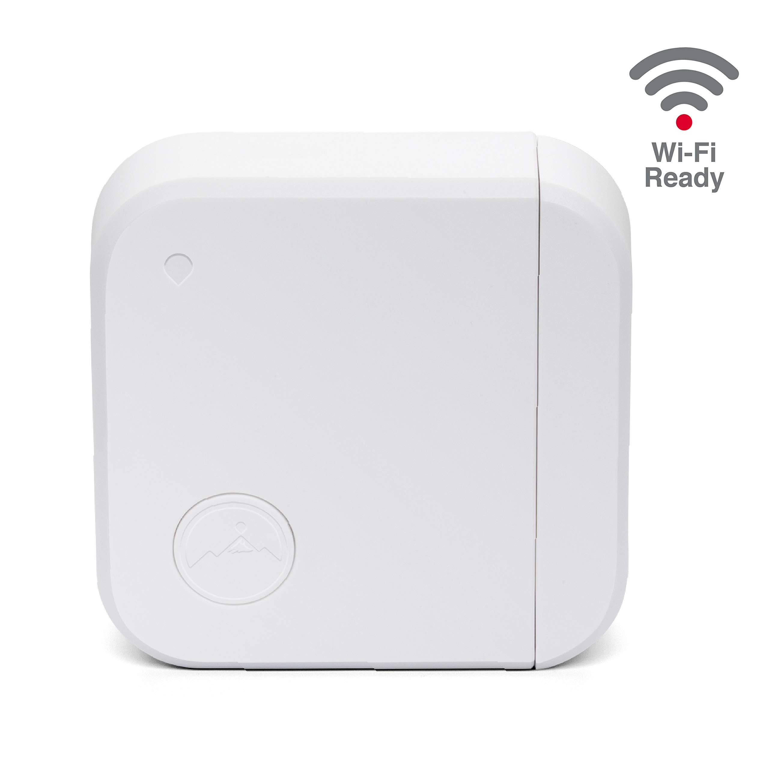Fox&Summit 2nd Generation WiFi Window Door Sensor with Built-in Chime and Audible Alerts, WiFi Enabled Battery Operated…