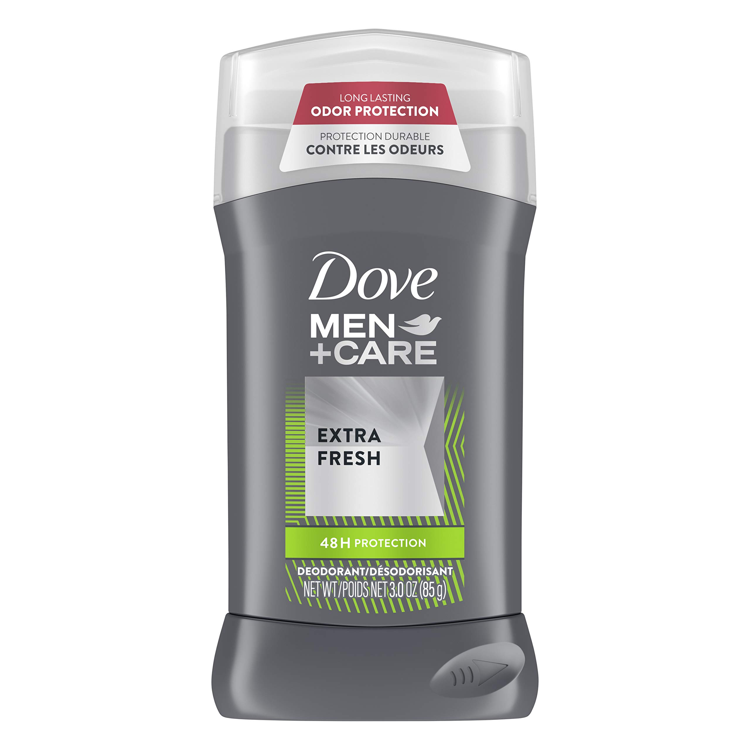 Dove Men+Care Deodorant Stick Aluminum-free formula with 48-Hour Protection Extra Fresh Deodorant for men with Vitamin E and Triple Action Moisturizer 3 oz
