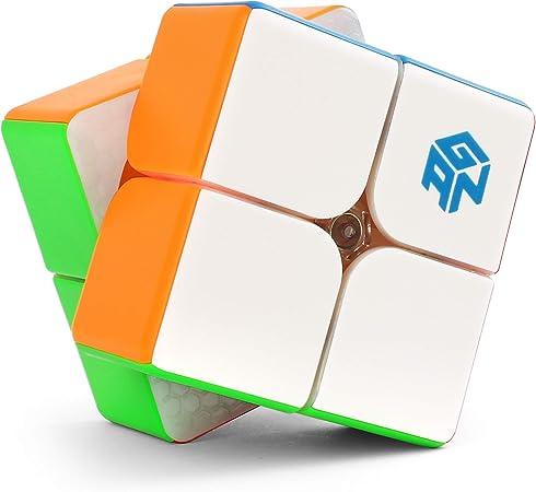 GAN 249 V2 2X2x2 Magic Cube Twist Puzzle Kids Toys Stickerless Match Game Pro