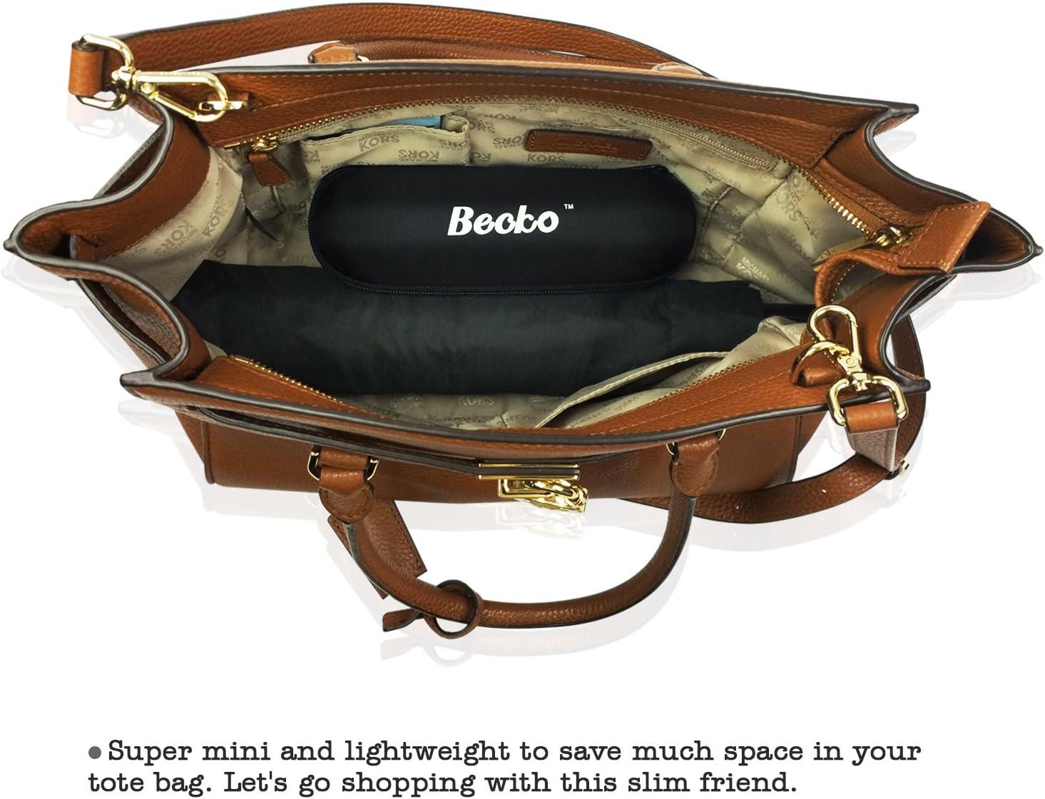 Becko Mini Kids Travel Foldable Pocket Umbrella 5-Fold Rain Umbrella with Waterproof Case