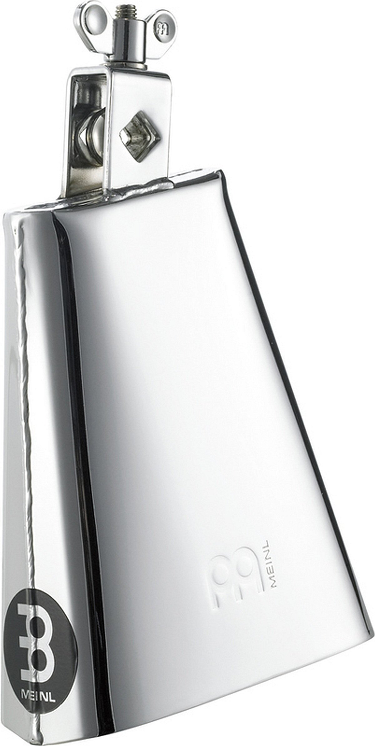 Meinl Percussion STB625-CH 6 1/2-Inch Chrome Finish Steel Cowbell by Meinl Percussion