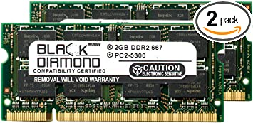 2GB DDR2 Laptop Memory for Acer Aspire 4530 Notebook PC