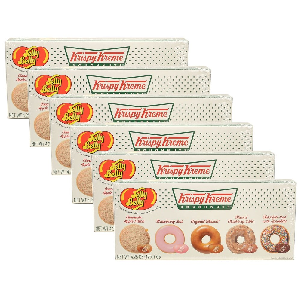 Jelly Belly Krispy Kreme Jelly Bean Box  6 Pack by Jelly Belly
