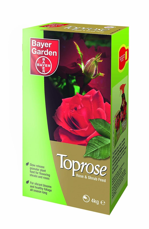 Bayer Garden Toprose - fertilizzante granulare per le rose, 4 kg Bayer Crop Science 5878135 PBI0699