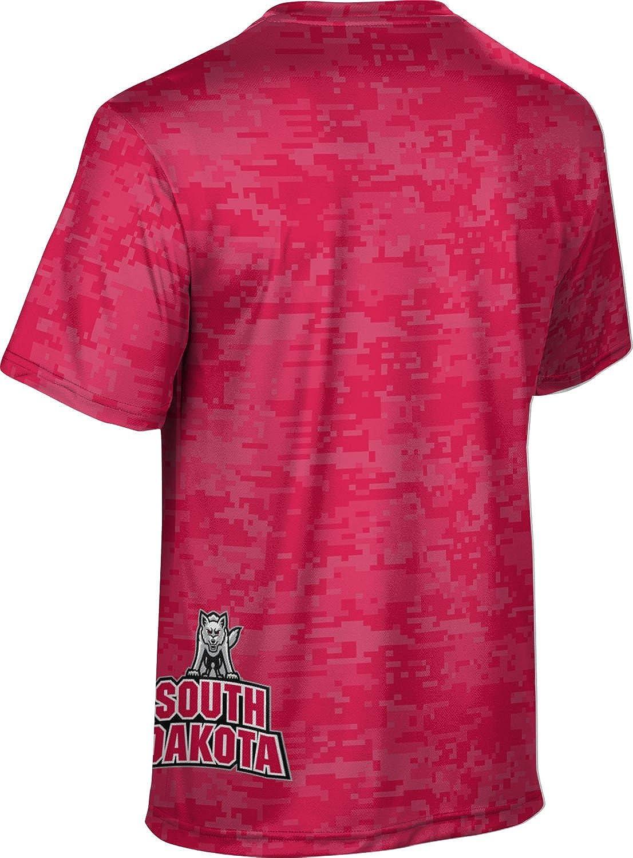 ProSphere University of South Dakota Boys Performance T-Shirt Digi Camo