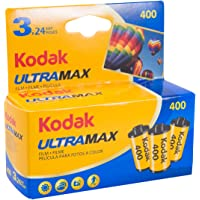 Kodak UltraMax 400 Color Negative Film (35mm Roll Film, 24 Exposures, 3-Pack) - 6034052