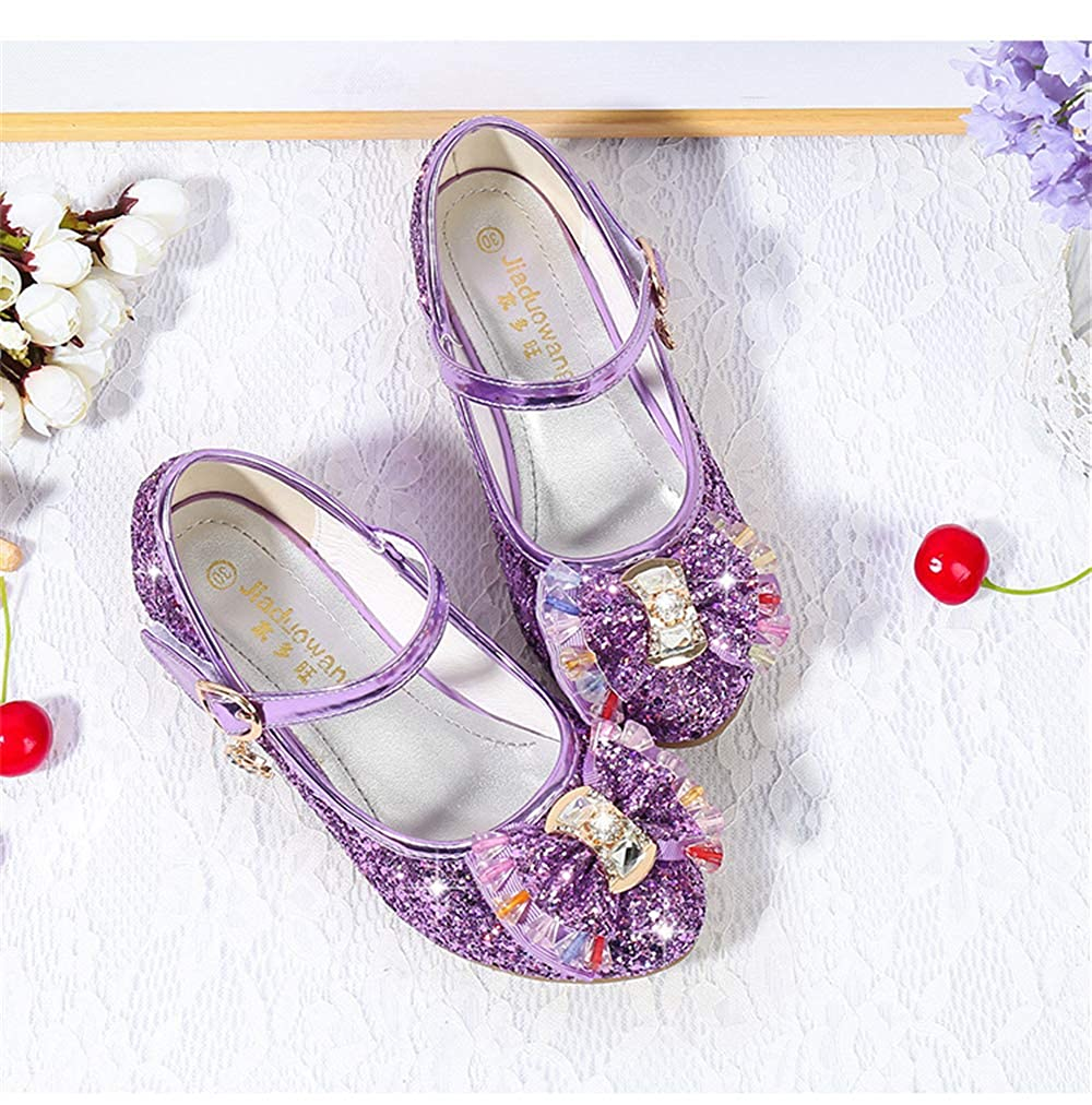 ZWEILI Sequin Show Shoes Princess Shoes