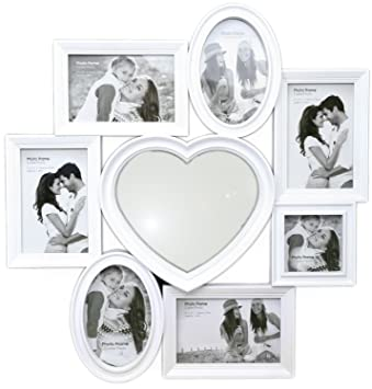 Charmant Picture Frames Multi Aperture Bilder - Badspiegel Rahmen ...