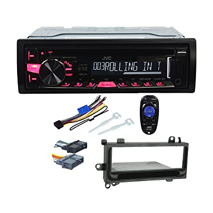 amazon com package jvc kd r460 single din cd mp3 car stereo rh amazon com
