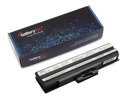 Batterytec ® Batería del ordenador portátil del reemplazo para Sony Vaio VGN-FW31E VGP-