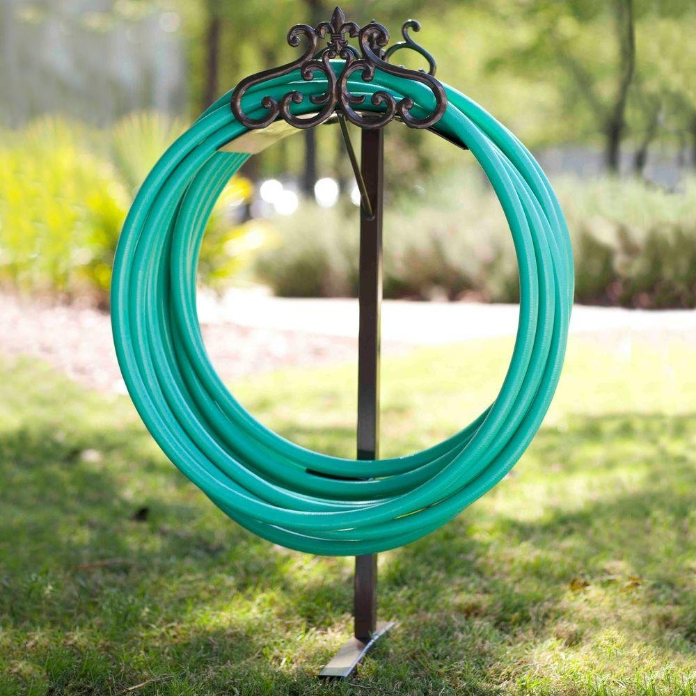 Amazon.com : Hampton Bay 125-ft Decorative Hose Stand : Garden & Outdoor