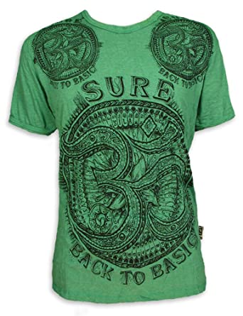 Sure Herren T Shirt Om Aom Symbol Heiliges Yoga Buddha Amazon De