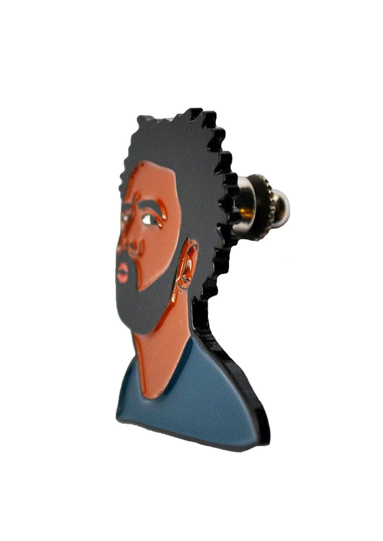 LumaPins Grande Pin Enamel Accessory Pins Actor Meme Face Movie