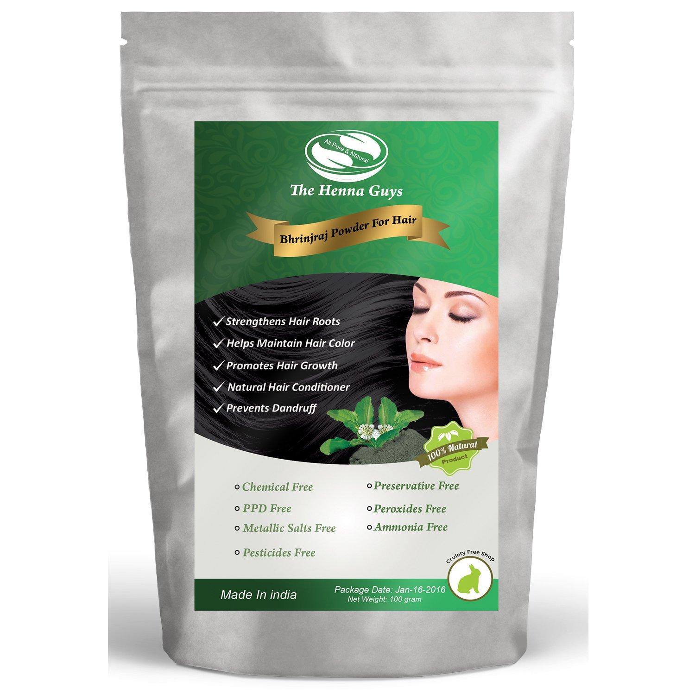 Bhringraj Powder ( Eclipta Alba ) - 100% Natural Hair Conditioner & Anti-Dandruff Powder - 100 grams