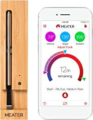 MEATER Up to 33 Feet Original True Wireless Smart Meat Thermometer for the Oven Grill Kitchen BBQ Rotisserie with Bluetooth