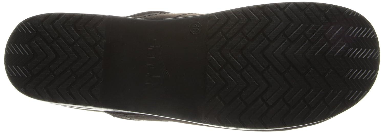 Dansko Women's Professional Mule B000KR88W0 40 EU/10 N US Antique Brown - Black Oiled Leather