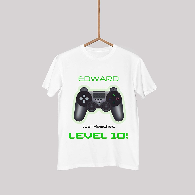 a646cf80b Custom Personalized Gaming Shirt, Game zone t-shirt, Video Game Birthday  shirt, Video Game Tee Shirt, Video game party, White Gaming Tshirt, Game  Zone Shirt ...